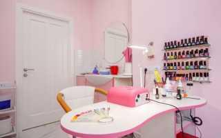 Рабочее место мастера маникюра — оборудуем правильно