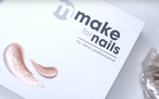 Макияж ногтей — материалы и технология