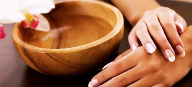 30 эффективных рецептов ванночек для рук и ногтей