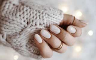 Молочный дизайн ногтей — тренд 2020 года