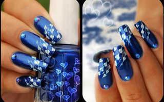 Простые рисунки на ногтях: фото, схемы
