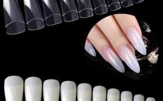 Как правильно и красиво нарастить ногти на типсах