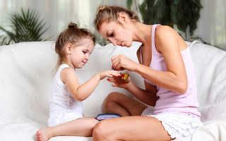 Детский маникюр: как сделать детский маникюр для девочек