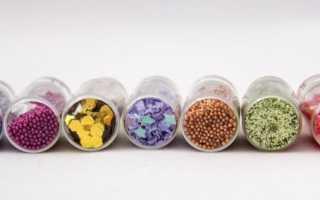 Глиттер для ногтей — виды и применение в дизайне
