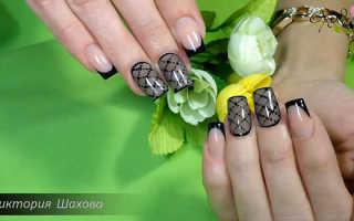 Дизайн ногтей «колготки» или «вуаль»: как сделать, фото