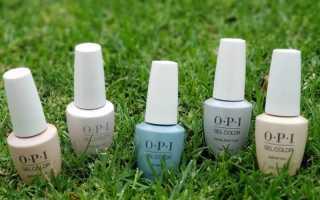 Маникюр лаками OPI — применение и палитра