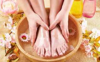 Педикюр и уход для нормальной, сухой и влажной кожи ног