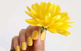 Желтый маникюр: 50 фото как сделать желтый маникюр