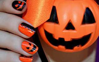 Маникюр на хэллоуин: как сделать маникюр на хэллоуин пошагово