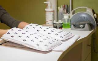 Электрические варежки для маникюра и парафинотерапии