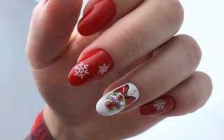 Новогодний маникюр. Дизайн ногтей на новый год