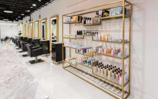 Как выбрать витрину в салон красоты