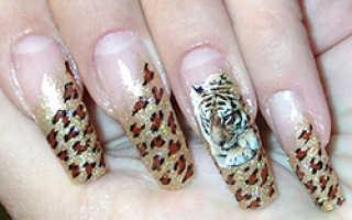 Наклейки на ногти: 20 фото, как клеить наклейки на ногти