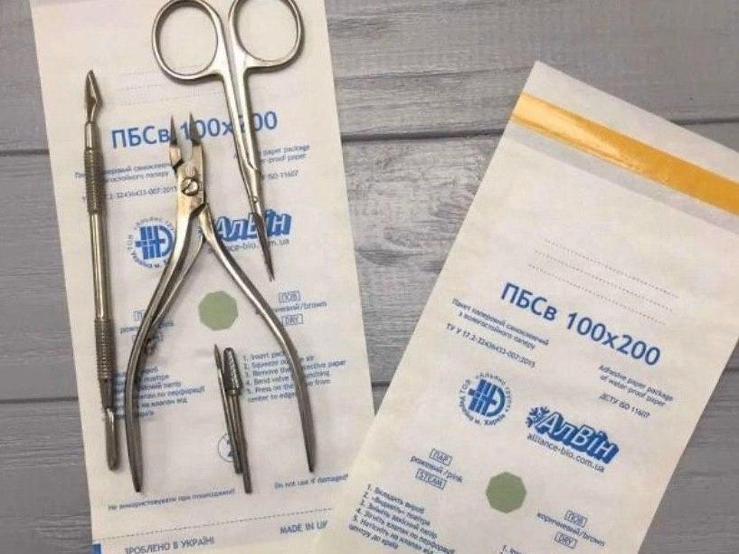 Инструмент стерилизация маникюр