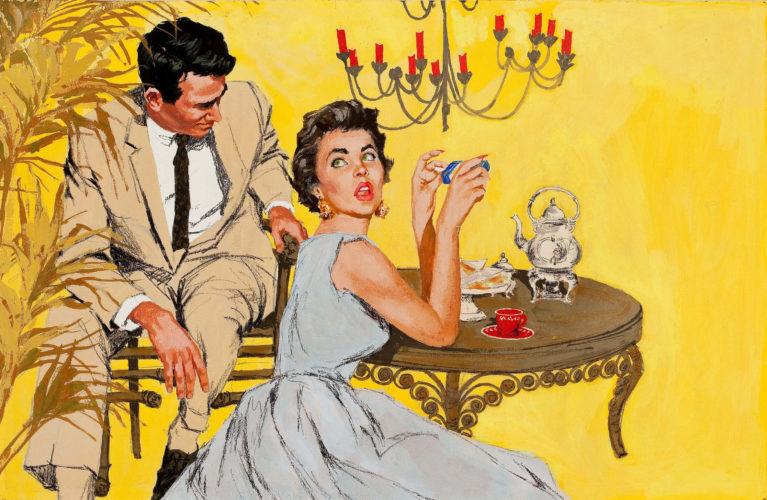 Смешной разговор про маникюр между мужем и женой