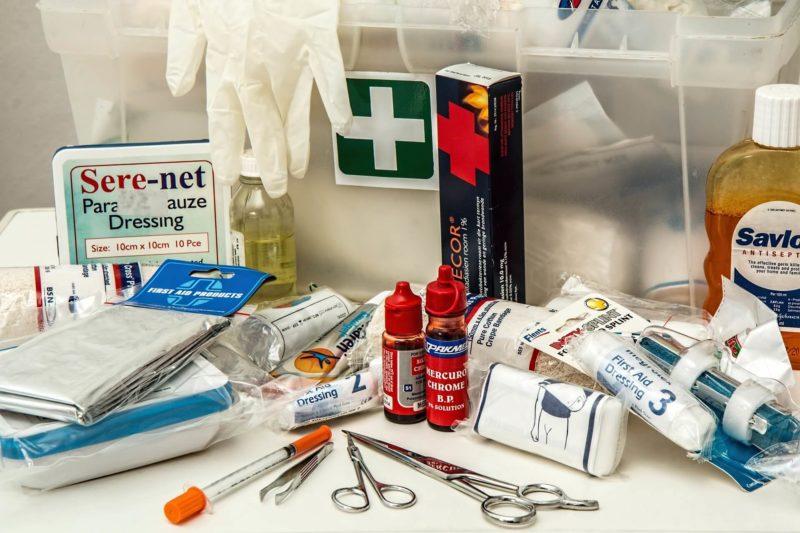 Аптечка «Первой помощи» для работников