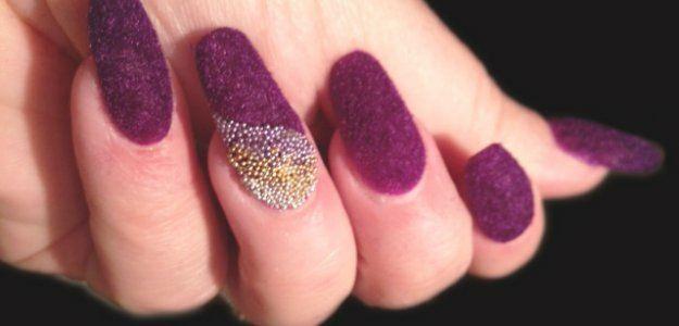 Идеи для бархатного дизайна ногтей