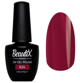 Beautix №634 – темный красно-розовый