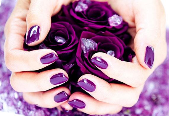 Цветной биогель для ногтей