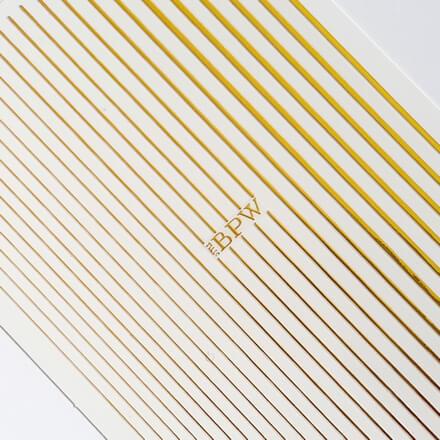 «Гибкая лента золотая» из силикона
