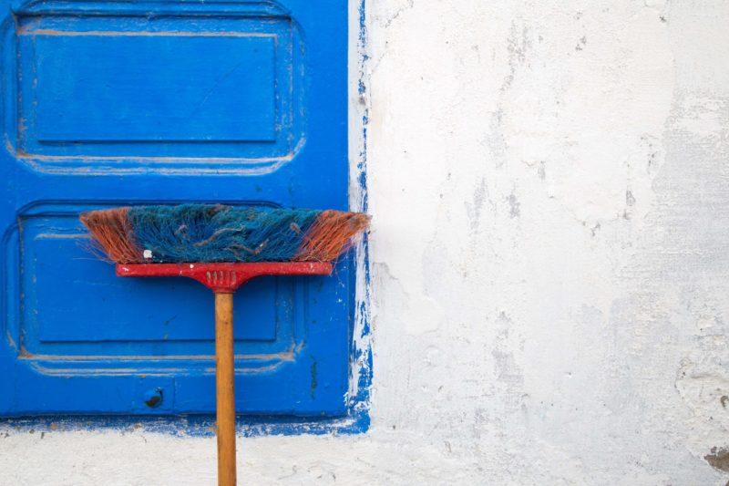 Что делать с инвентарем после уборки