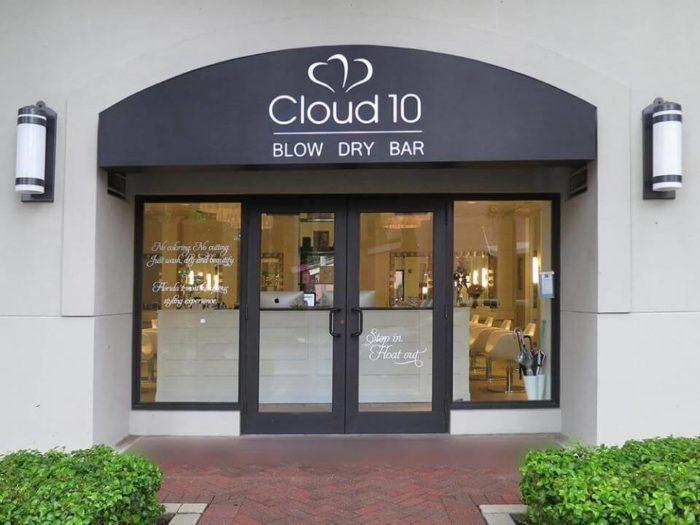 Входная группа салона Cloud