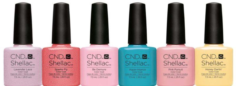 Подделка гель-лаков CND Shellac