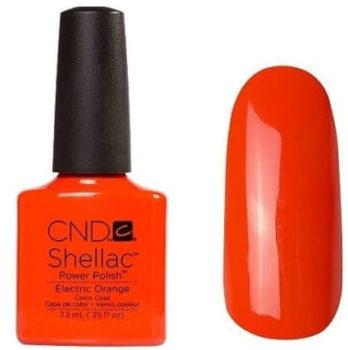 CND Shellac под названием «Electric orange»