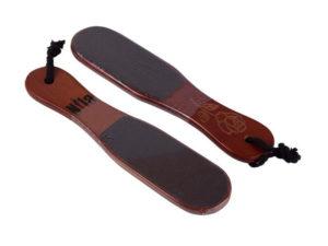Пилка для педикюра на деревянной основе