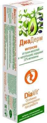 Аванта крем для ног DiaDerm с мочевиной 10%