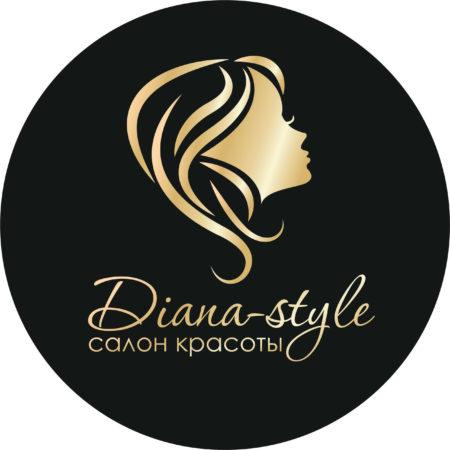Пример логотипа салона красоты Диана