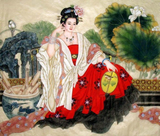 Маникюр во время Династии Мин в Китае