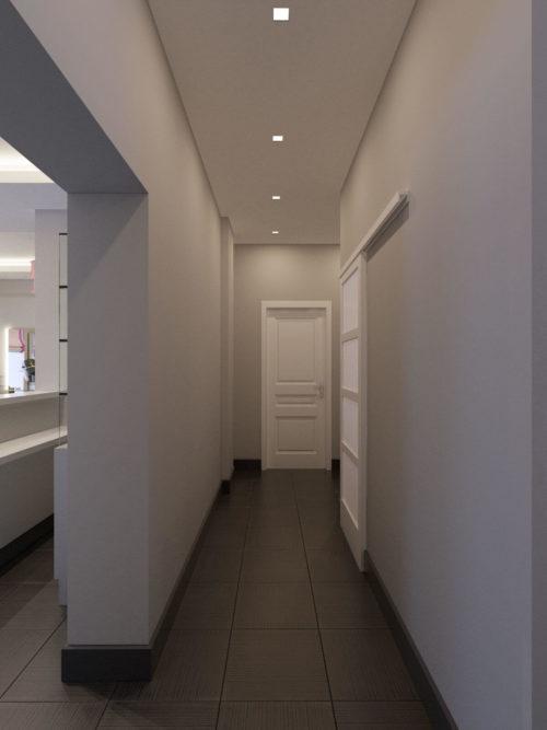Подсобное помещение в салоне Одри Хепберн