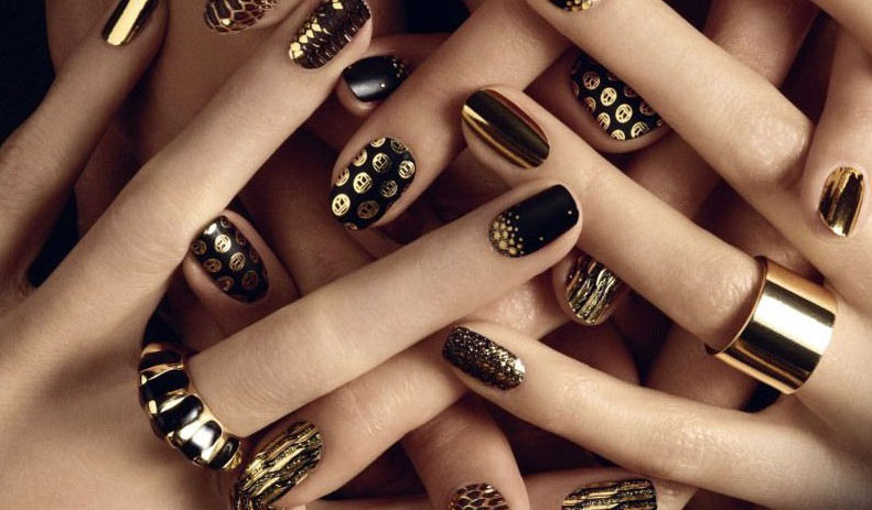 Дизайн ногтей для торжественных случаев фото