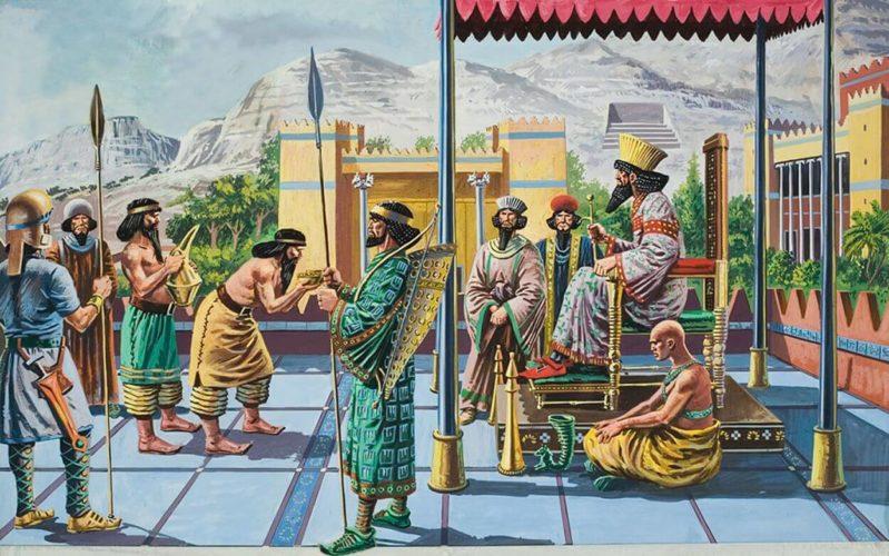 Маникюр в Древнем Вавилоне