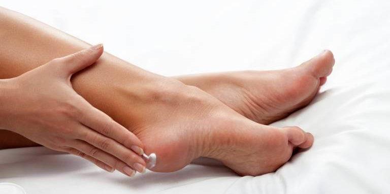 Технология энзимного пилинга ног