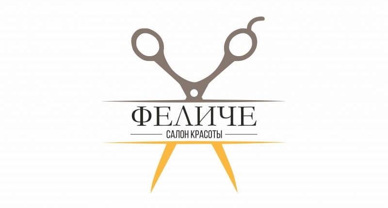Логотип салона красоты Феличе