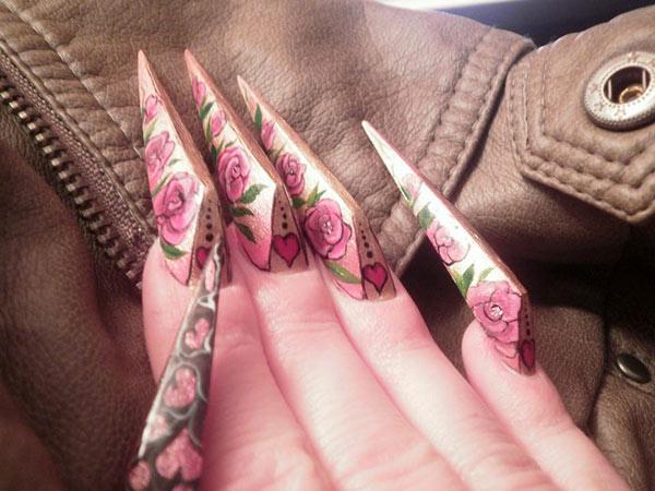 Экстравагантные формы ногтей