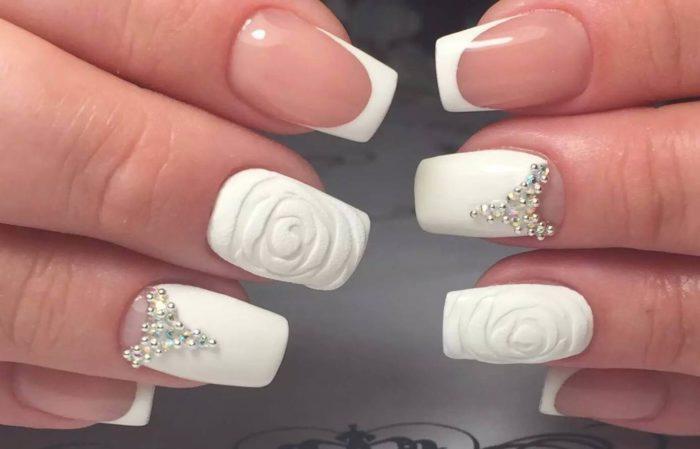 Как сделать опил для формы ногтей квадрат