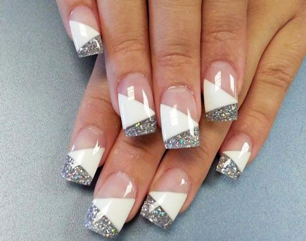 Фото нарощенных ногтей с узорами