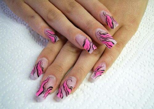 дизайн нарощенные ногти