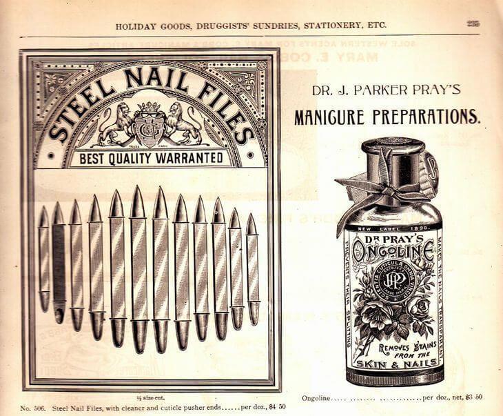 История маникюра во Франции 19 века