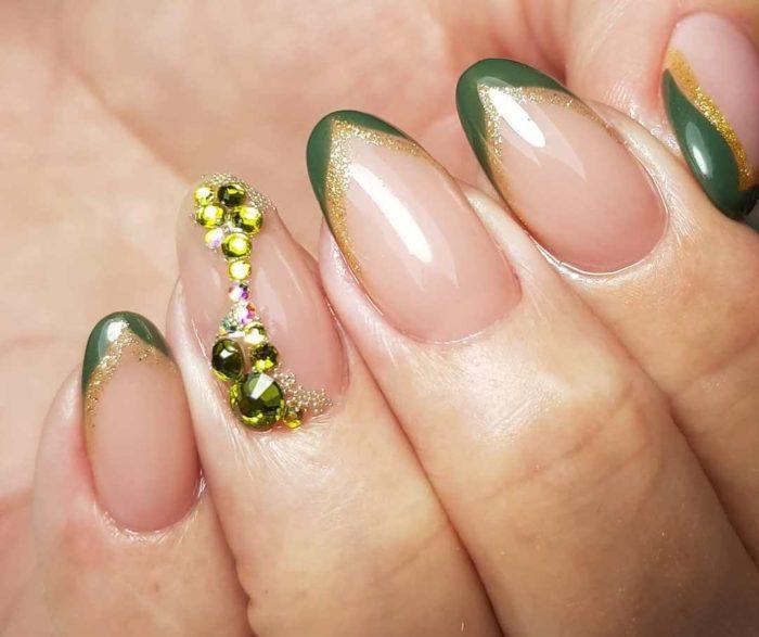 Зеленый френч