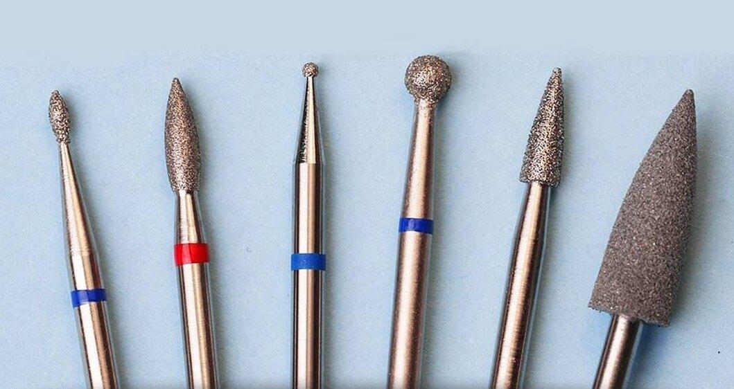 Фрезы для работы с кожей и ногтевой пластиной