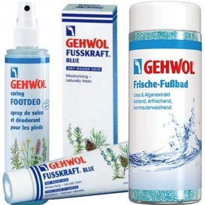 Дезодорирующие средства Gehwol