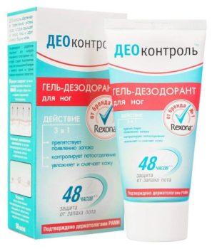 Гель-дезодорант для ног «Rexona»