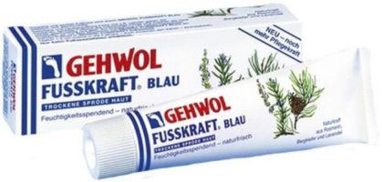 Голубой бальзам Gehwol предотвращает образование трещин