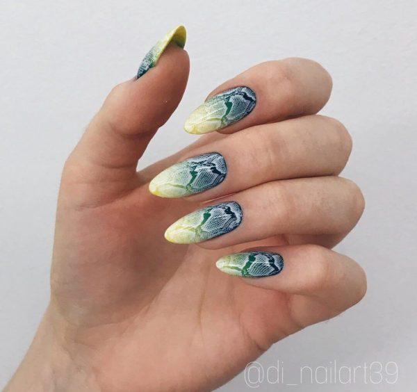 Желто-зеленый градиент