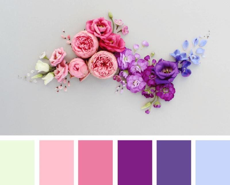 Разные цвета для градиента