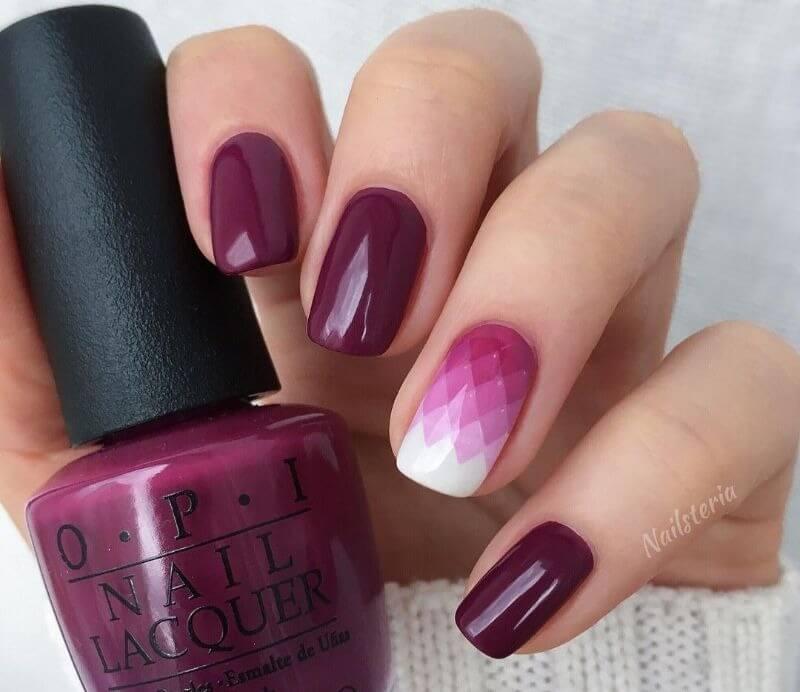Фиолетовый графический градиент